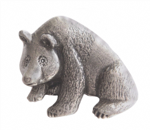 Grizzly Bear Pewter Brooch - BR1352